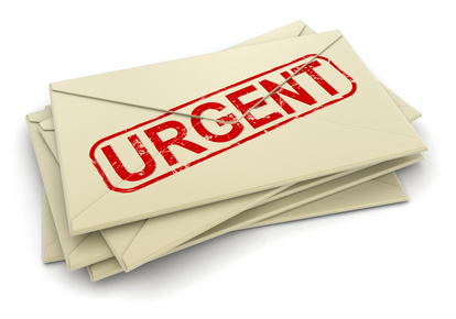 Book an urgent courier service