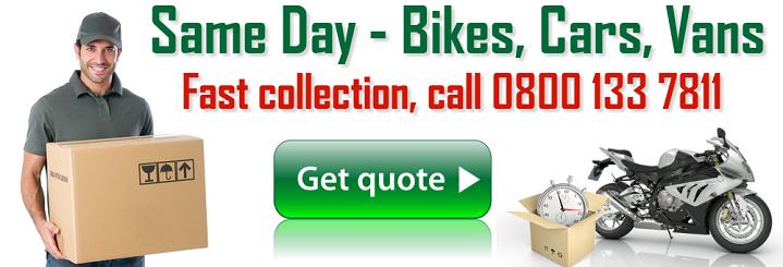 london city bike courier