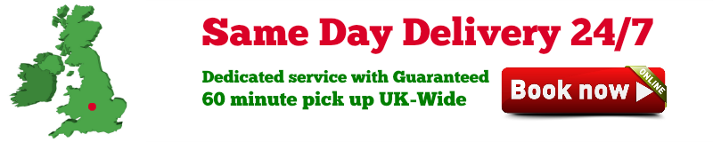 urgent local collection, guaranteed courier delivery same day anywhere in the uk