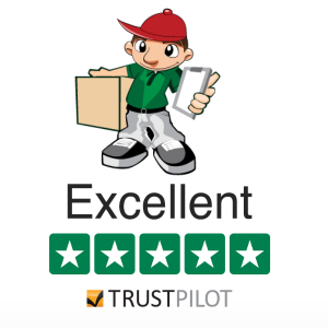Trust a same day courier with a review from Trustpilot